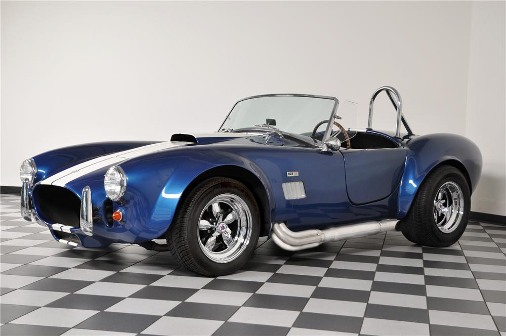 1966 SHELBY COBRA RE-CREATION ROADSTER - Side Profile - 96888
