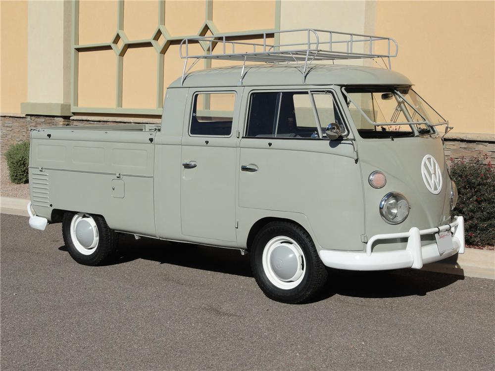 1962 VOLKSWAGEN DOUBLE CAB PICKUP - Side Profile - 96898