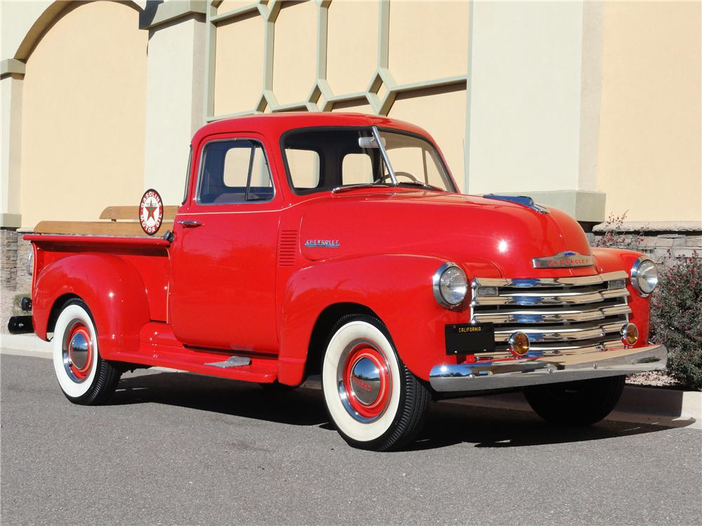 1952 CHEVROLET 3100 PICKUP - Front 3/4 - 96901