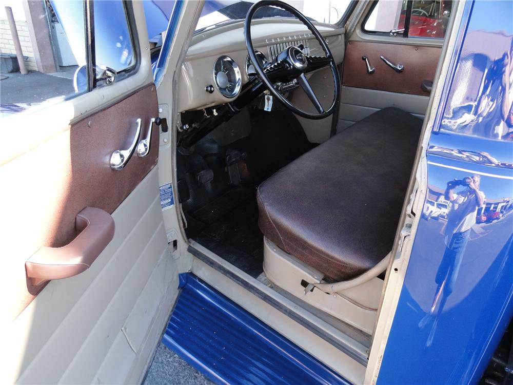 1955 CHEVROLET 3100 PICKUP - Interior - 96906