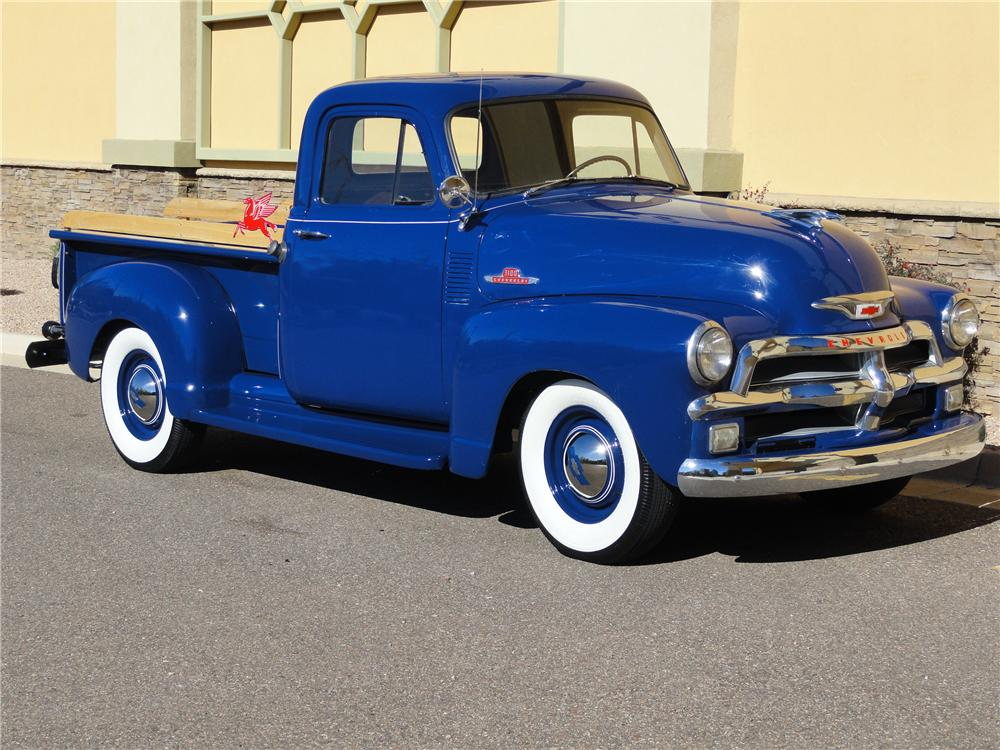 1955 CHEVROLET 3100 PICKUP - Side Profile - 96906