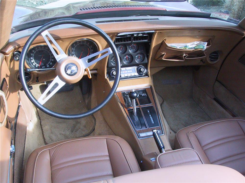 1974 CHEVROLET CORVETTE CONVERTIBLE - Interior - 96914
