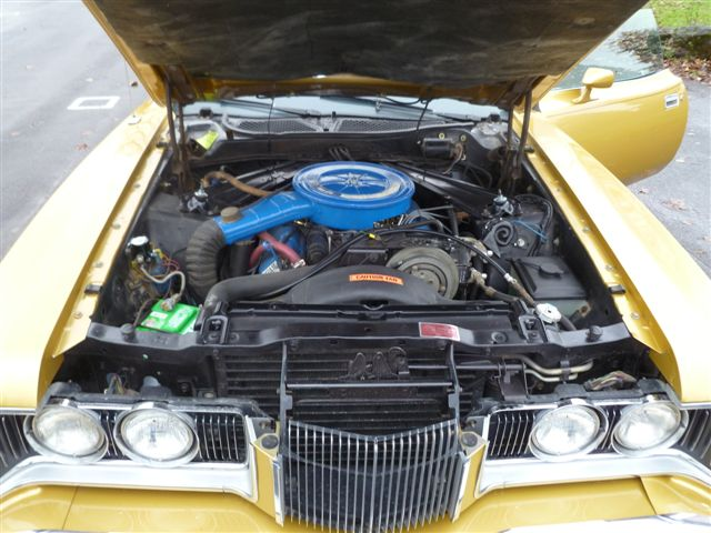 1973 MERCURY COUGAR XR7 CONVERTIBLE - Engine - 96925