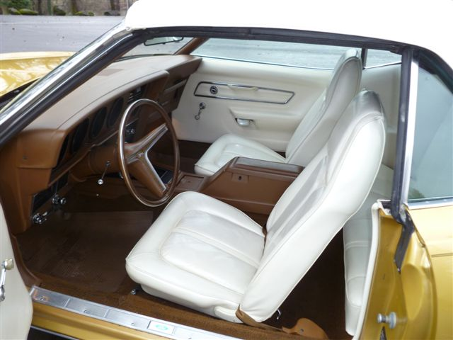 1973 MERCURY COUGAR XR7 CONVERTIBLE - Interior - 96925