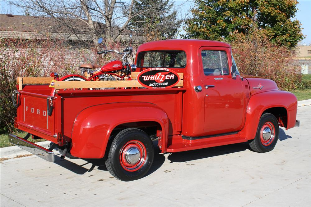 1956 FORD F-100 PICKUP - Rear 3/4 - 96930