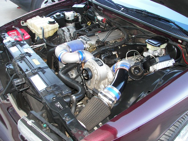 1996 CHEVROLET IMPALA SS 4 DOOR SEDAN - Engine - 96933