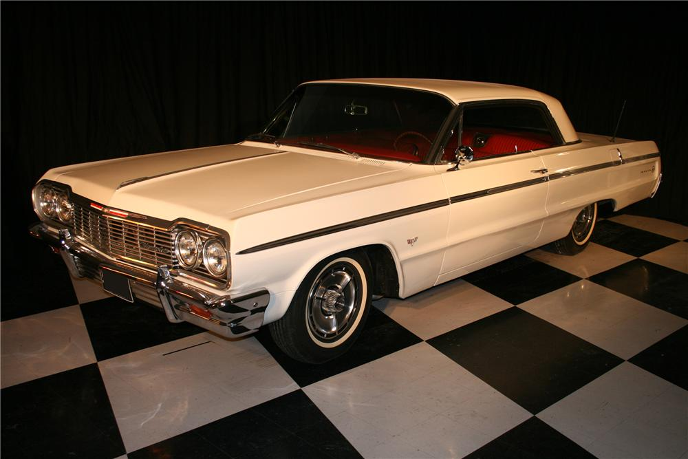 1964 CHEVROLET IMPALA SS 2 DOOR COUPE - Front 3/4 - 96934