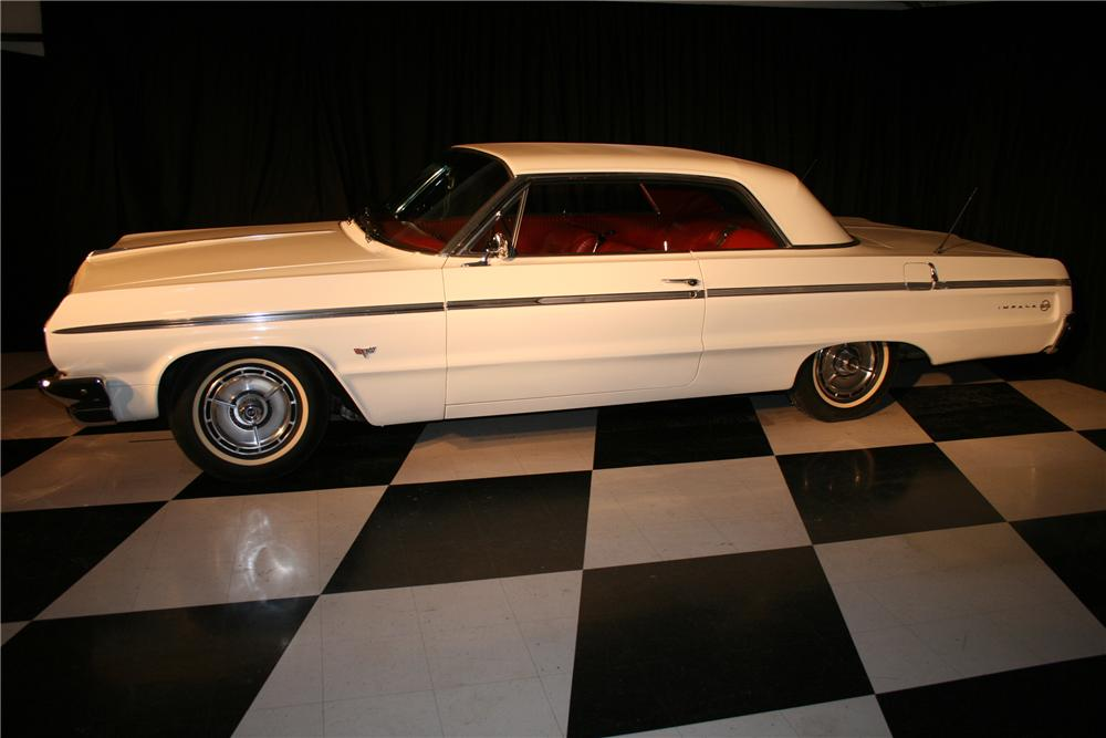 1964 CHEVROLET IMPALA SS 2 DOOR COUPE - Side Profile - 96934