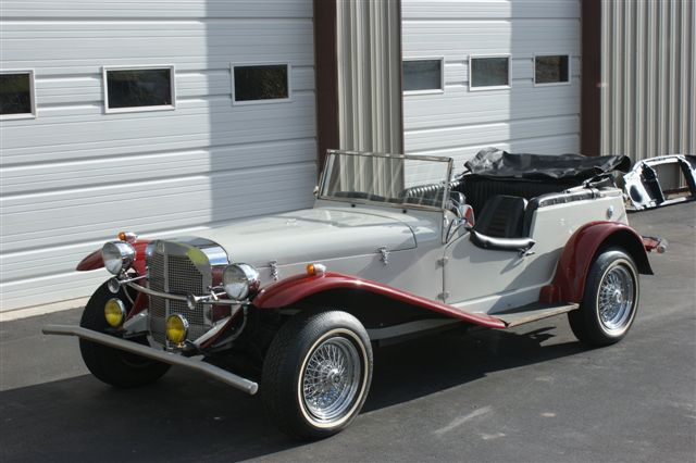 1924 MERCEDES-BENZ CONVERTIBLE RE-CREATION - Front 3/4 - 96942