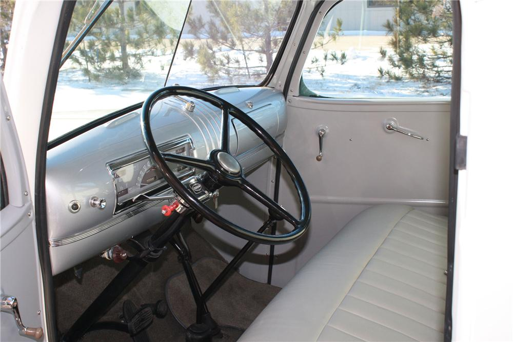 1941 CHEVROLET CUSTOM PICKUP - Interior - 96945