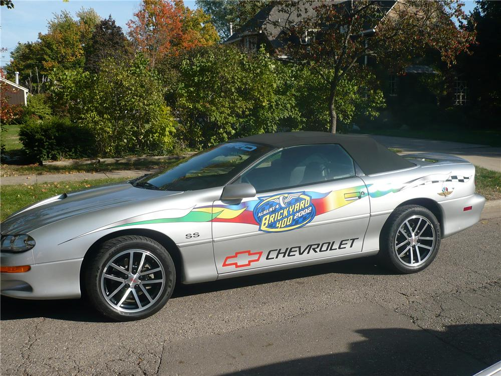 2002 CHEVROLET CAMARO INDY PACE CAR CONVERTIBLE96952