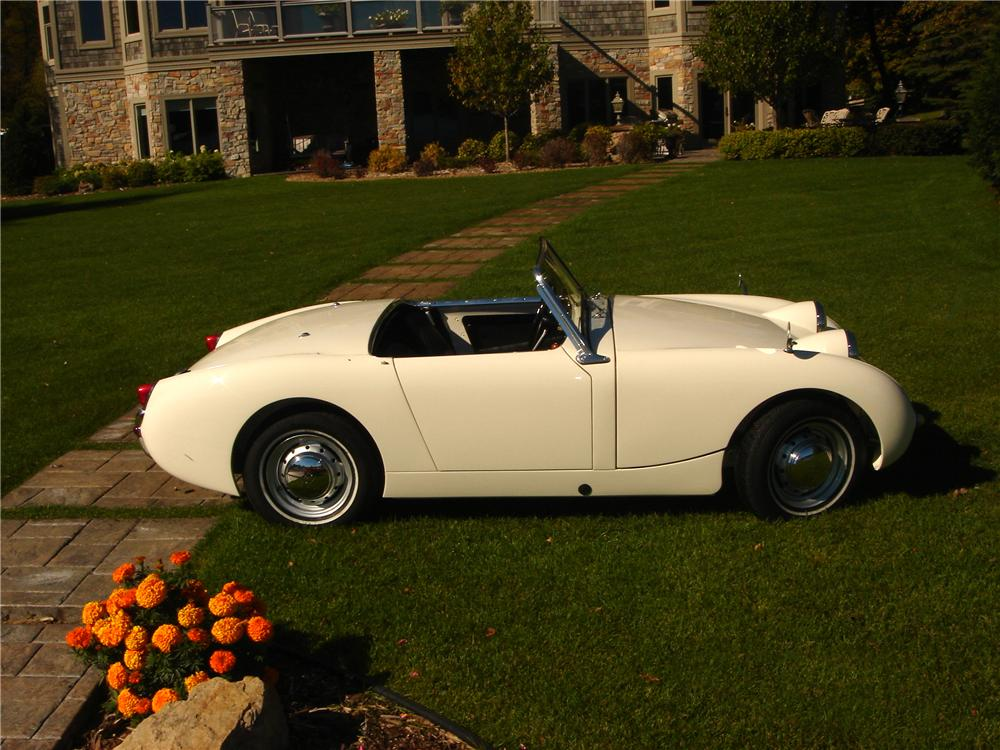 1960 AUSTIN-HEALEY SPRITE BUGEYE CONVERTIBLE - Side Profile - 96958