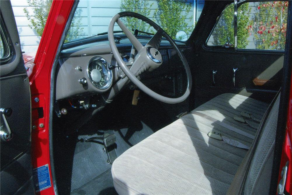 1954 CHEVROLET 3100 PICKUP - Interior - 96970