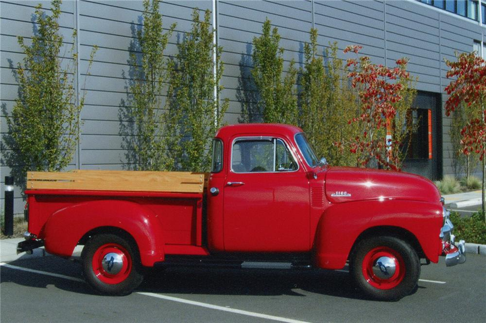 1954 CHEVROLET 3100 PICKUP - Side Profile - 96970