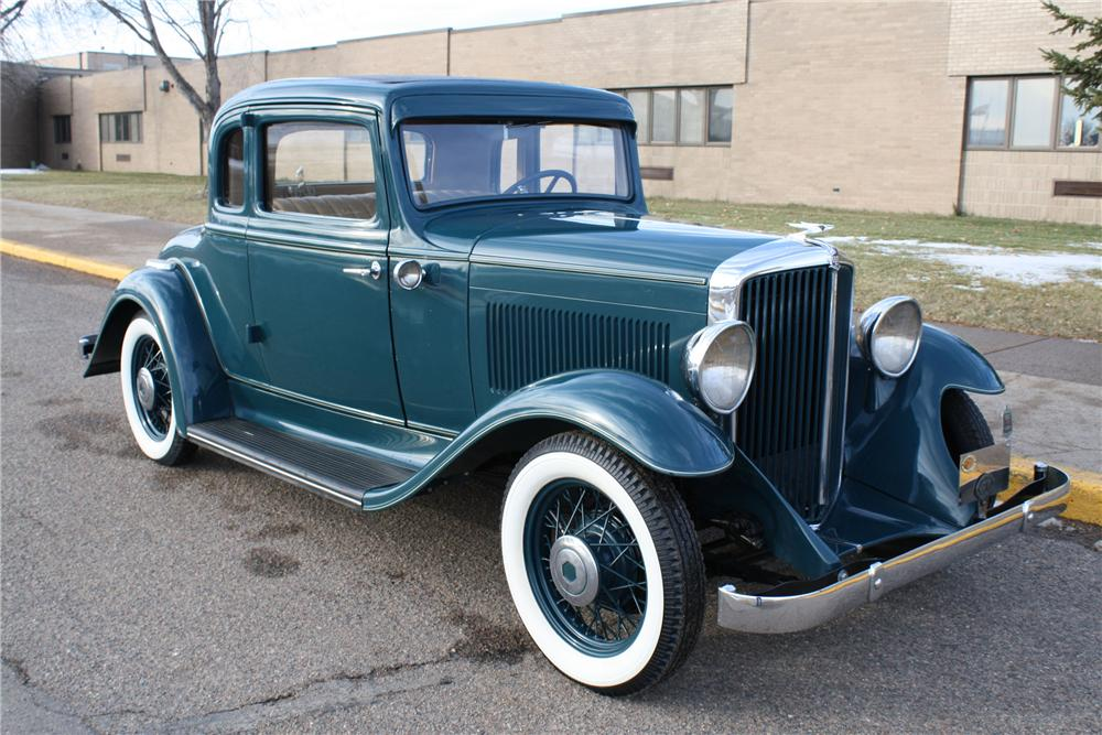 1932 ESSEX SUPER 6 MODEL E COUPE - Front 3/4 - 96971