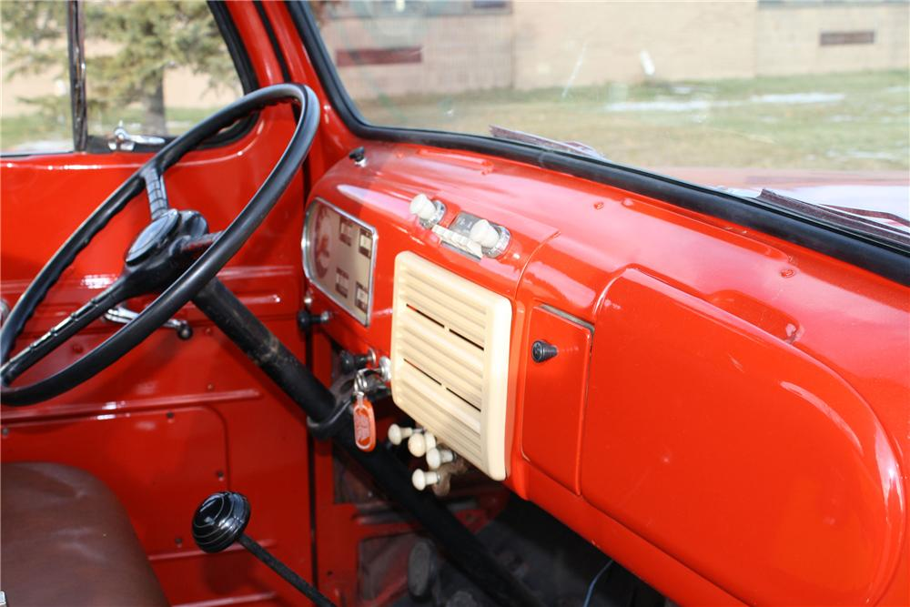 1949 FORD F-1 PICKUP - Interior - 96976