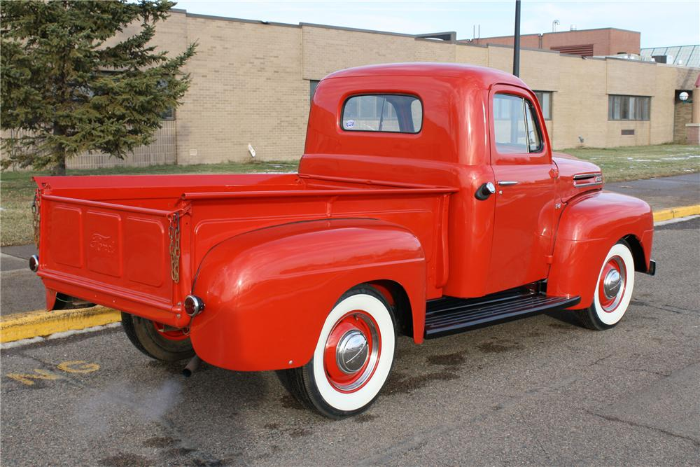 1949 FORD F-1 PICKUP - Rear 3/4 - 96976