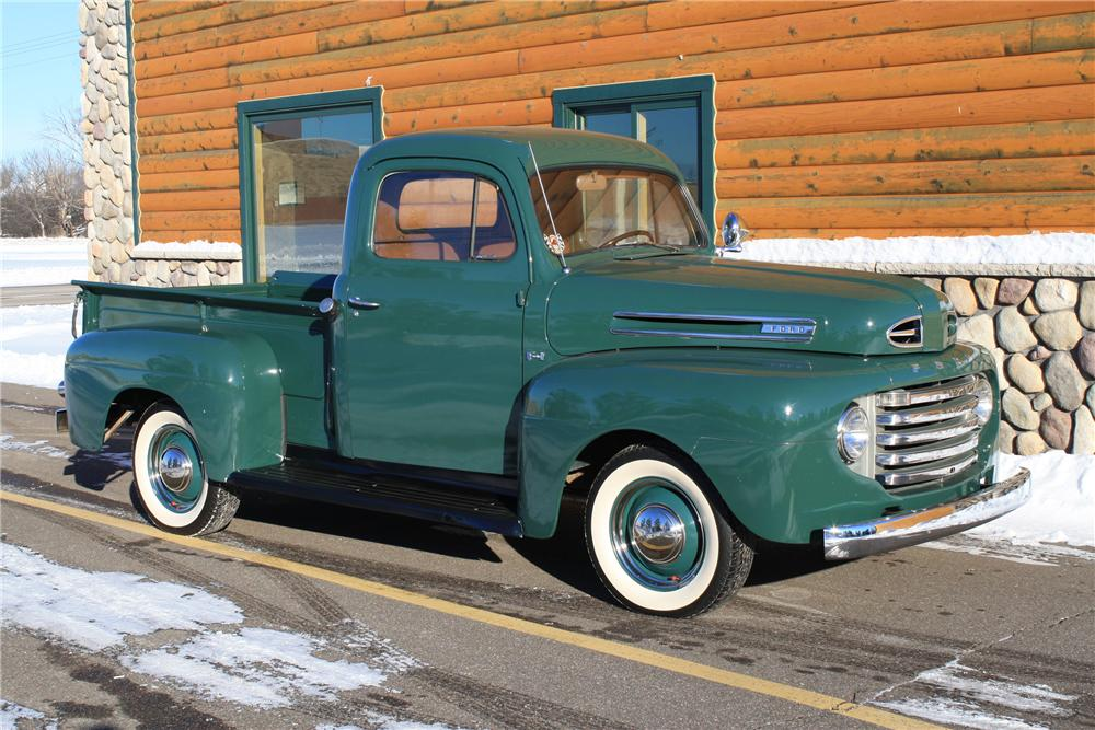 1949 FORD F-1 PICKUP - Front 3/4 - 96977