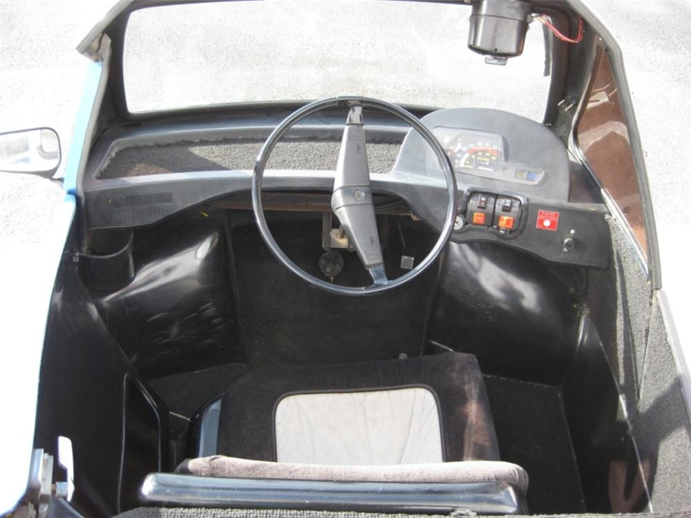 1984 HONDA ZOE CONVERTIBLE - Interior - 96981