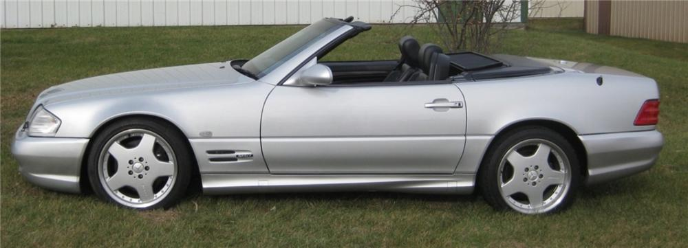 1999 MERCEDES-BENZ 600SL CONVERTIBLE - Side Profile - 96985