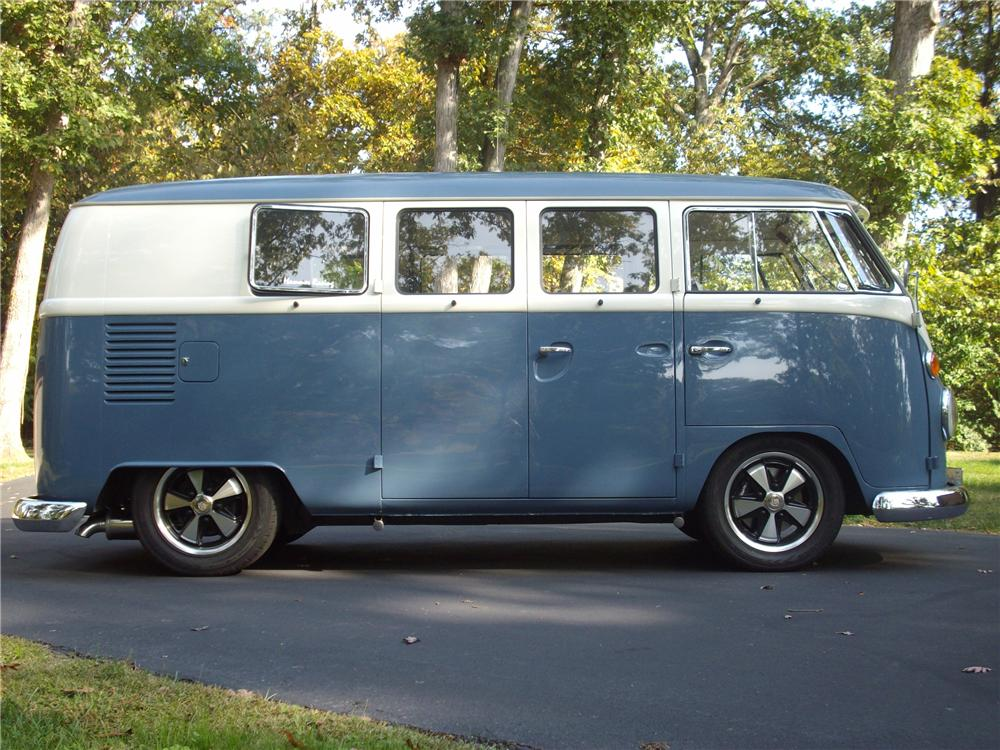 1965 VOLKSWAGEN KOMBI CUSTOM BUS - Side Profile - 96989