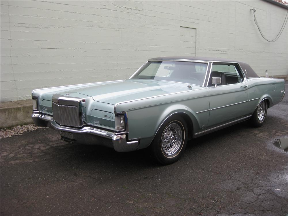 1971 lincoln continental mark iii 2 door coupe 96990