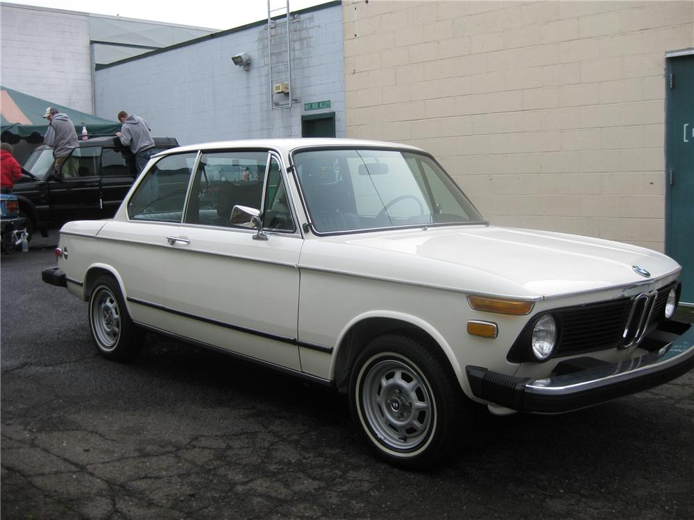 1975 BMW 2002 2 DOOR COUPE - Front 3/4 - 96994