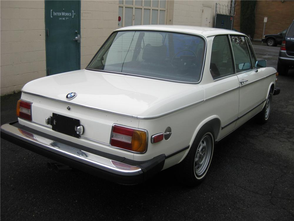 1975 BMW 2002 2 DOOR COUPE - Rear 3/4 - 96994