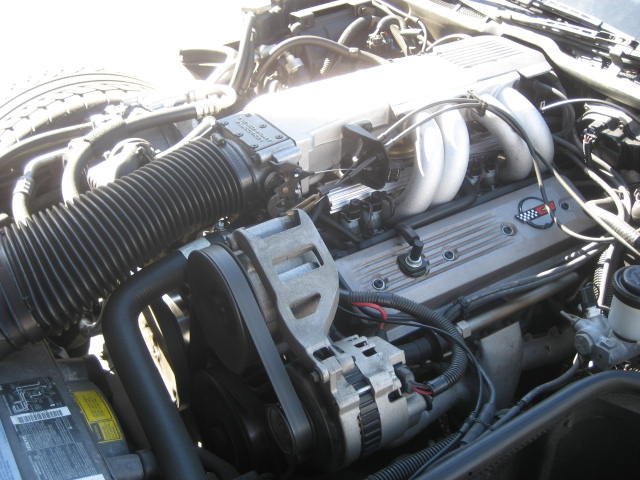 1990 CHEVROLET CORVETTE COUPE - Engine - 96995