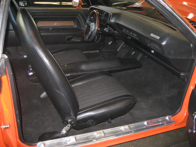 1973 DODGE CHALLENGER CUSTOM 2 DOOR HARDTOP - Interior - 96996