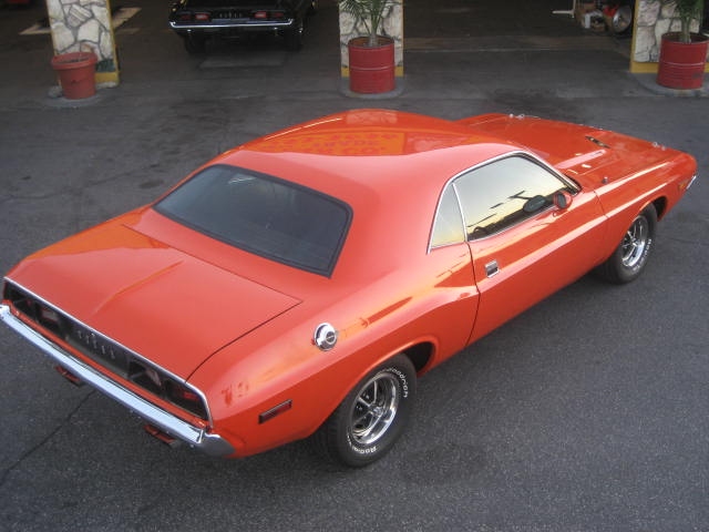 1973 DODGE CHALLENGER CUSTOM 2 DOOR HARDTOP - Rear 3/4 - 96996