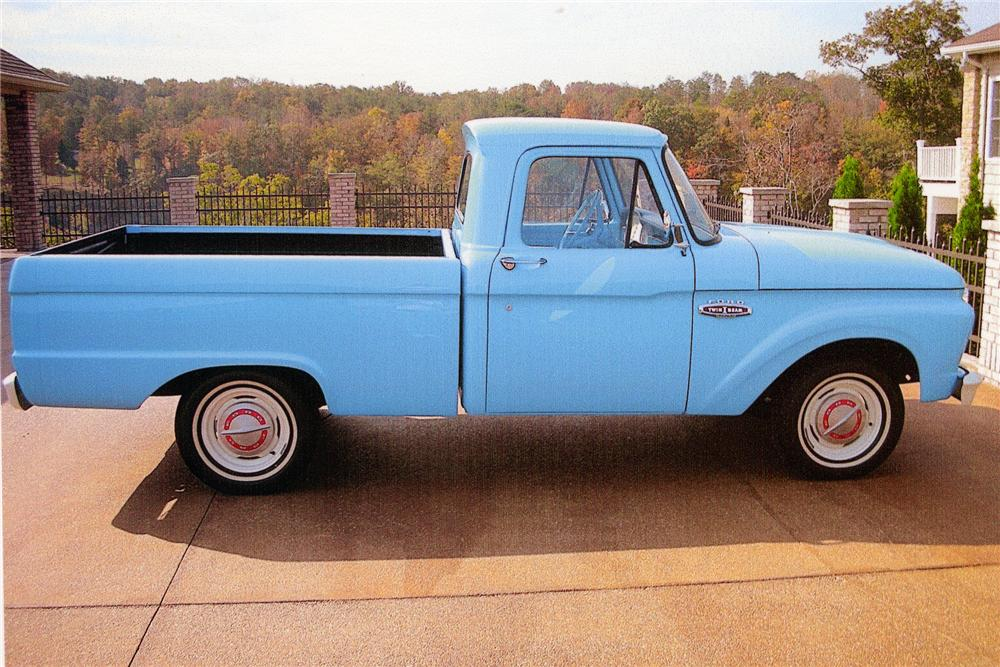 1966 FORD F-100 PICKUP - Front 3/4 - 96999