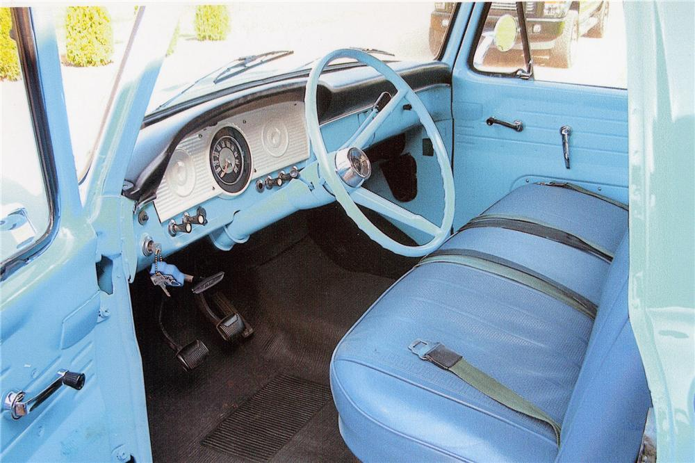 1966 FORD F-100 PICKUP - Interior - 96999