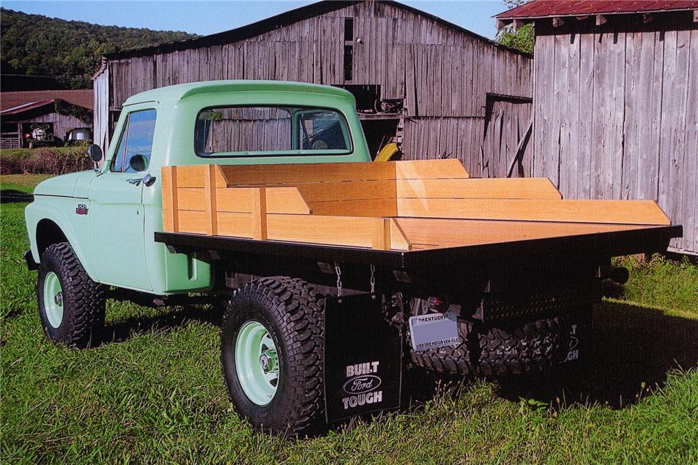 1966 FORD F-250 CUSTOM HIGHBOY PICKUP - Rear 3/4 - 97000
