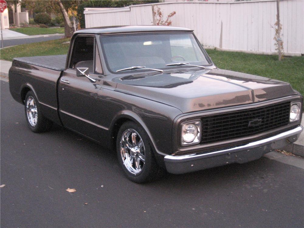 1968 Chevrolet C 10 Custom Fleetside Shortbed Pickup