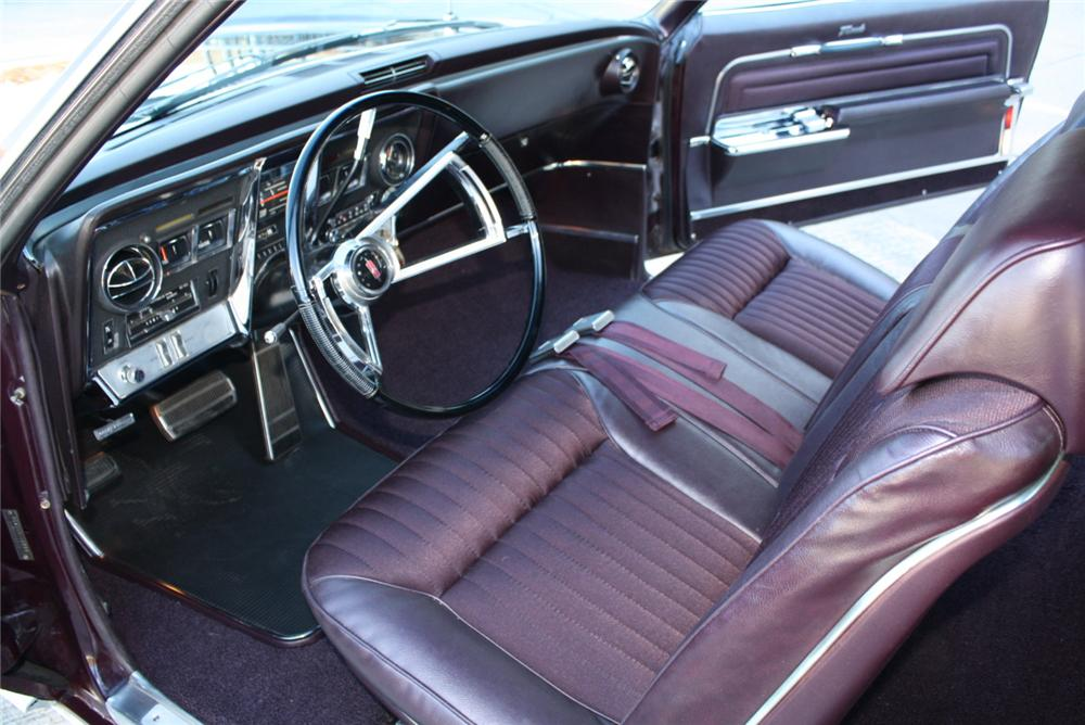 1966 OLDSMOBILE TORONADO 2 DOOR HARDTOP - Interior - 97005