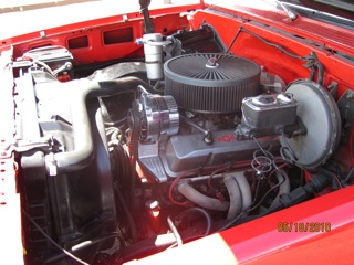 1981 CHEVROLET STEP-SIDE CUSTOM PICKUP - Engine - 97008
