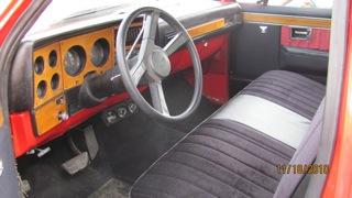 1981 CHEVROLET STEP-SIDE CUSTOM PICKUP - Interior - 97008