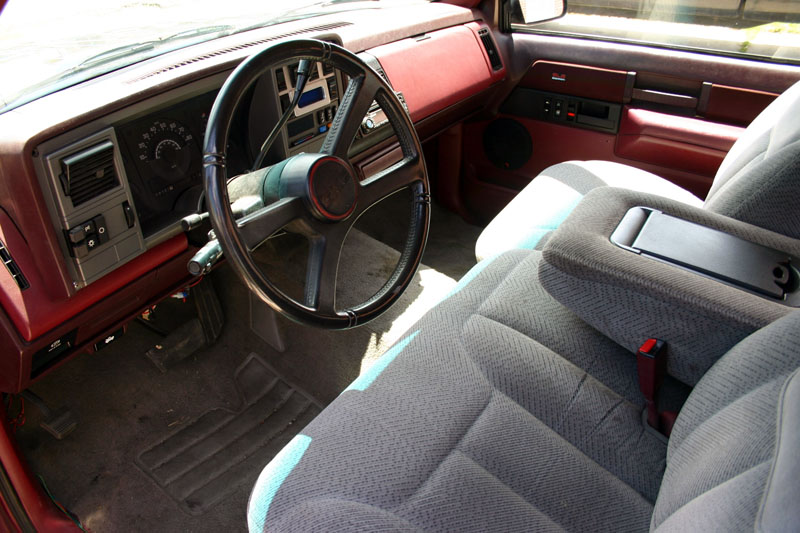 1989 GMC SIERRA CUSTOM PICKUP - Interior - 97009