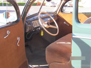 1940 FORD 5 WINDOW COUPE - Interior - 97013