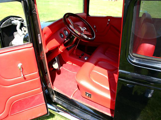 1930 FORD MODEL A 2 DOOR SEDAN - Interior - 97014