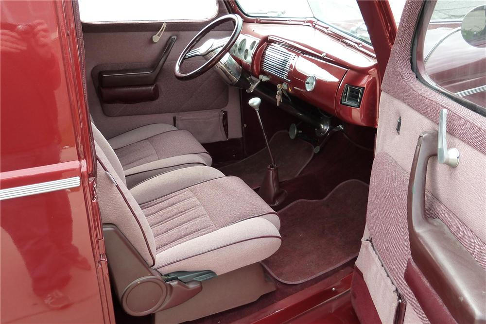1941 FORD CUSTOM SEDAN DELIVERY - Interior - 97015