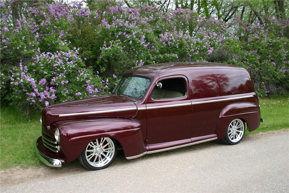 1947 FORD CUSTOM SEDAN DELIVERY - Front 3/4 - 97016