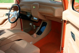 1937 FORD 3 WINDOW CUSTOM COUPE - Interior - 97022