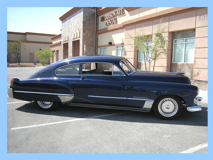 1948 CADILLAC SERIES 62 CUSTOM 2 DOOR HARDTOP - Side Profile - 97027