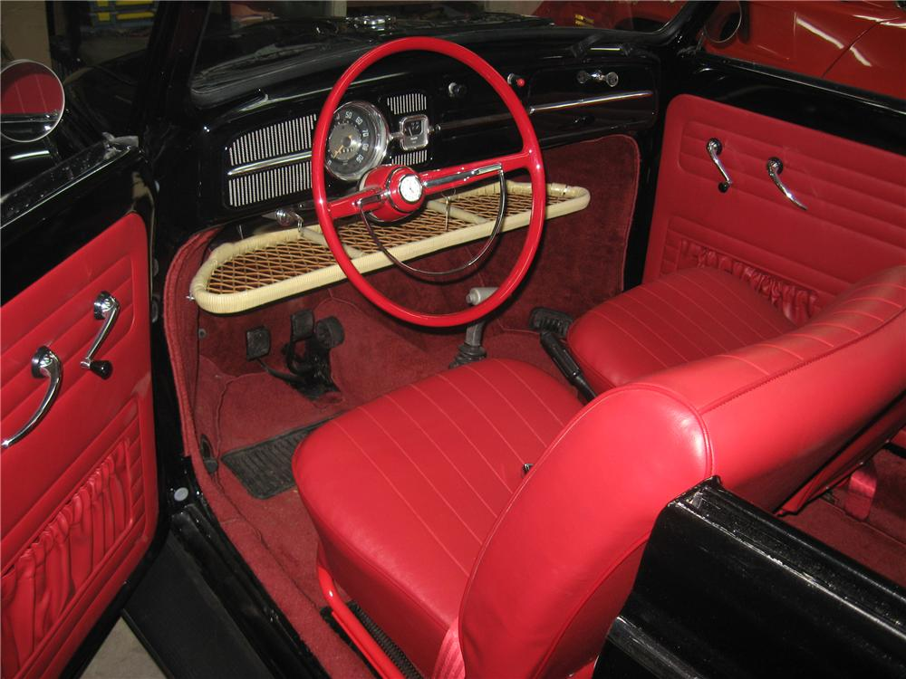 1961 VOLKSWAGEN BEETLE CUSTOM CONVERTIBLE - Interior - 97033