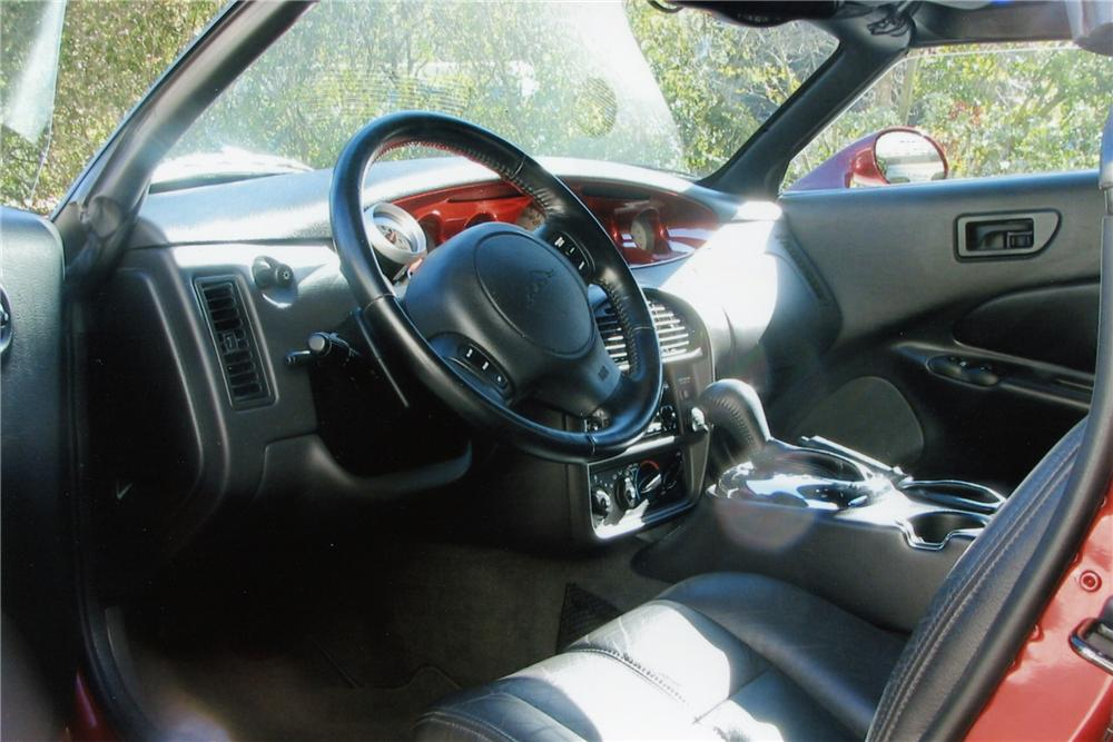 2002 CHRYSLER PROWLER CONVERTIBLE - Interior - 97042