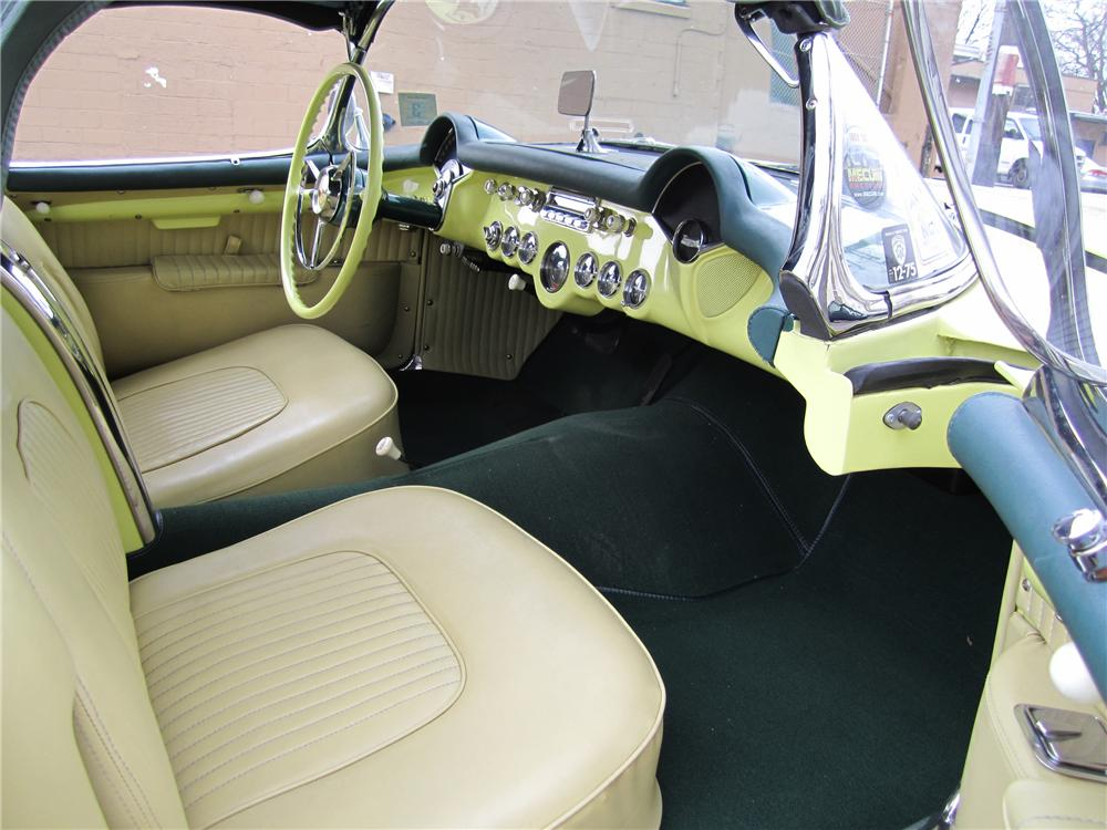 1955 CHEVROLET CORVETTE CONVERTIBLE - Interior - 97045