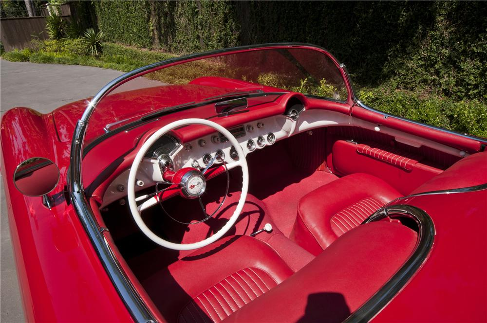 1954 CHEVROLET CORVETTE CONVERTIBLE - Interior - 97049