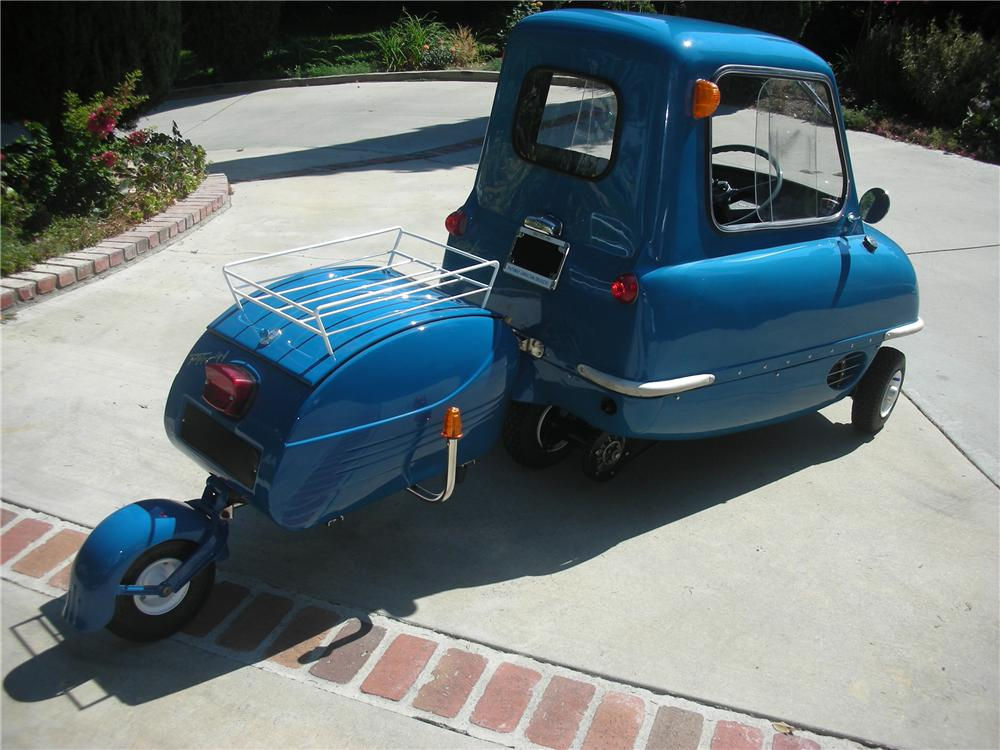 1963 PEEL P50 REPLICA - Rear 3/4 - 97055